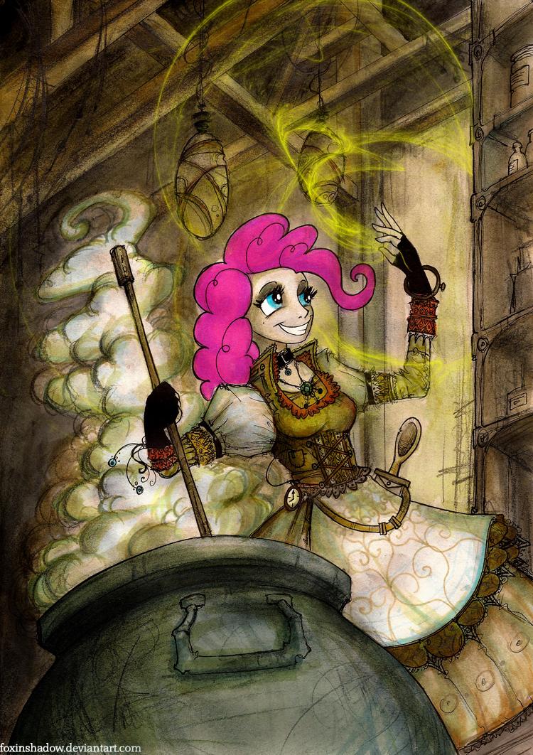 Pinkie's Brew by FoxInShadow