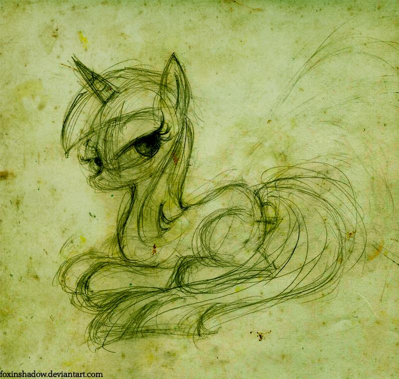 absinthe Twilight by FoxInShadow