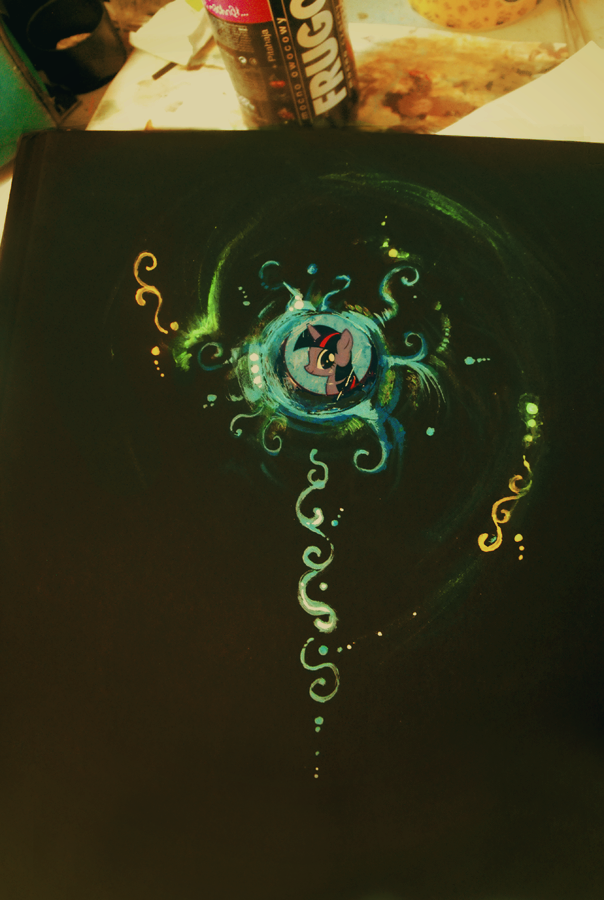 Twilight Sparkle sketchbook by FoxInShadow