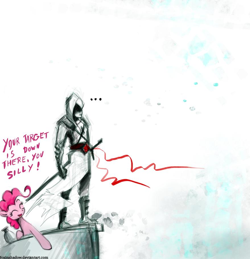Just ask ponies, Altair by FoxInShadow
