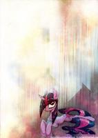 Wet mane Twilight by FoxInShadow