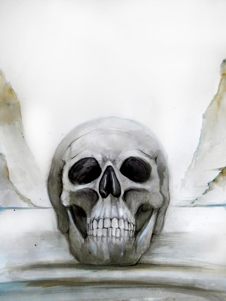 Memento mori by FoxInShadow