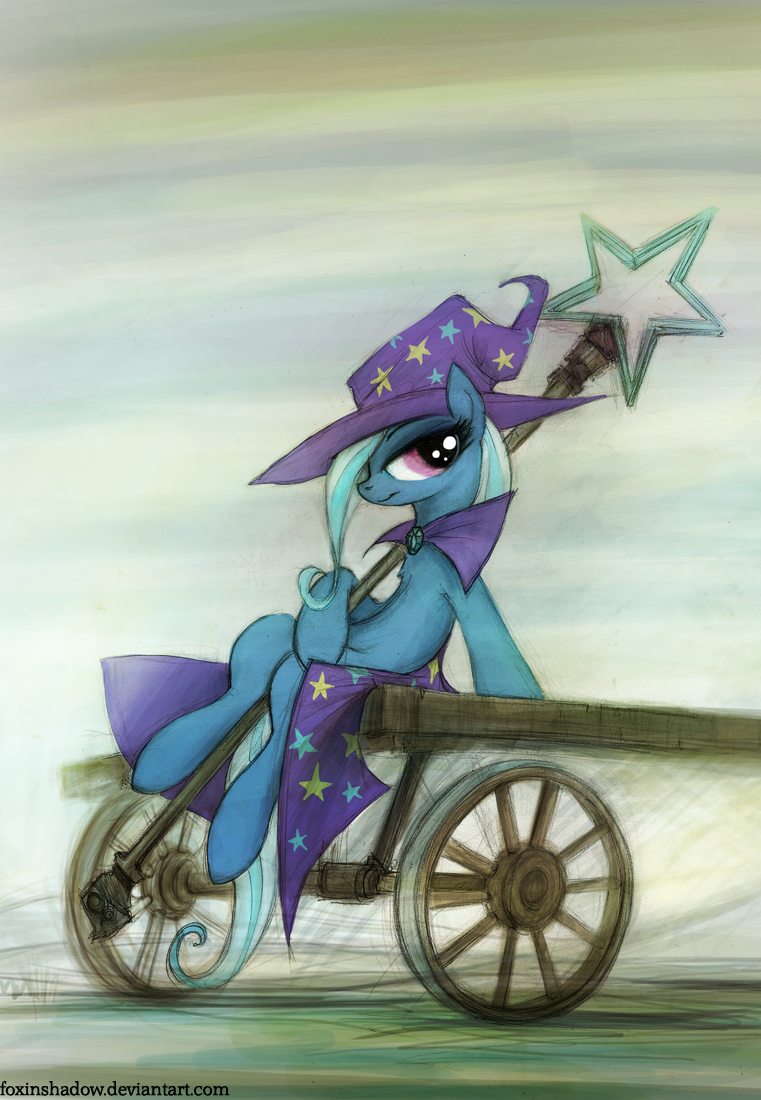 Trixie by FoxInShadow