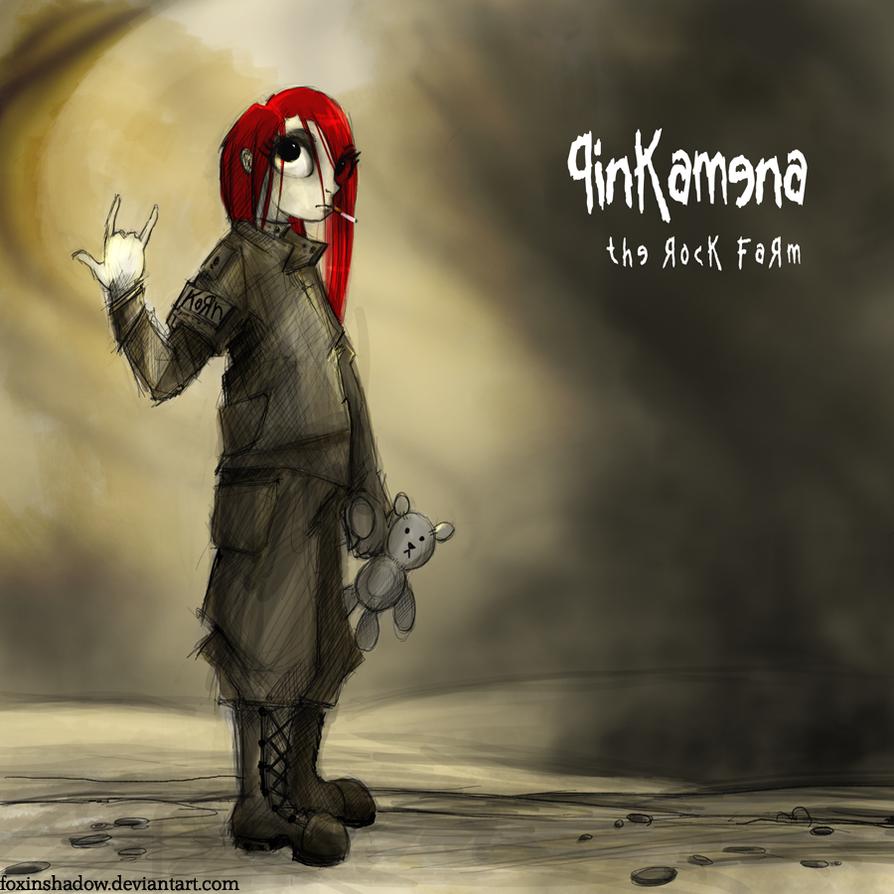 Pinkamena: The Rock Farm by FoxInShadow