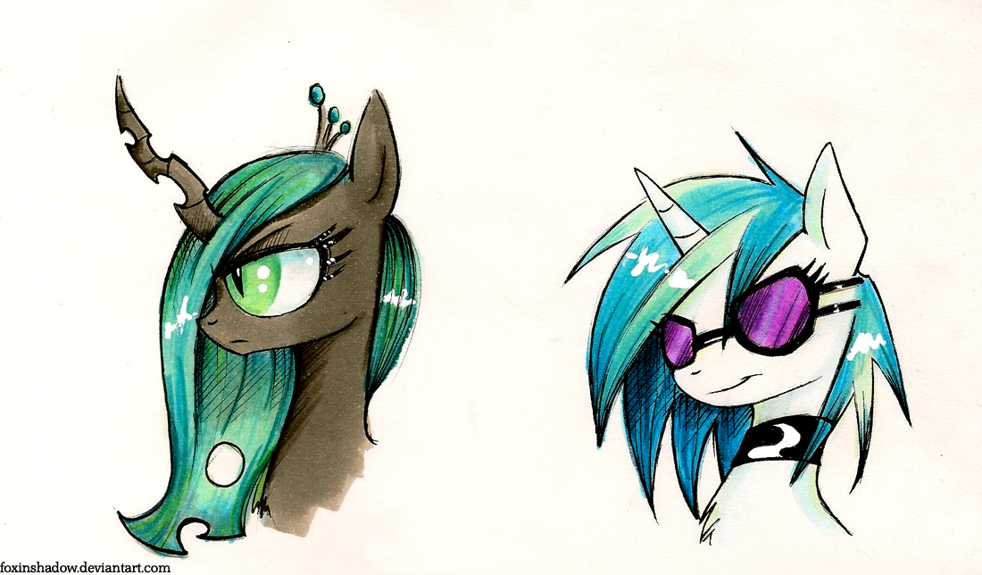 Ponymeet doodles by FoxInShadow
