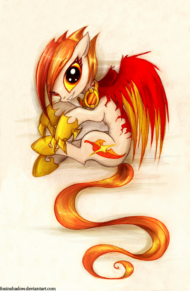 little fireball by FoxInShadow