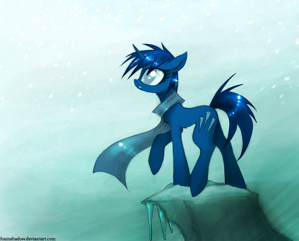 Cold as Ice by FoxInShadow