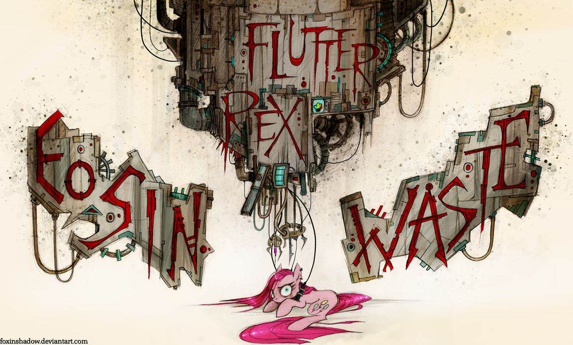 Eosin Waste by FoxInShadow