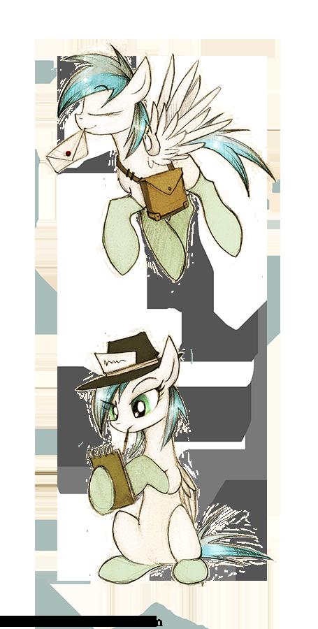 More website ponies by FoxInShadow