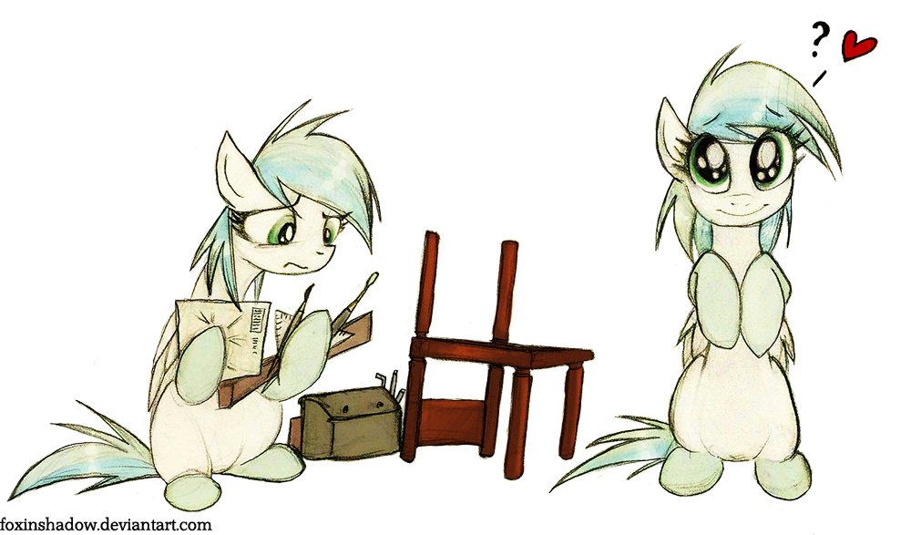 Even more website ponies by FoxInShadow