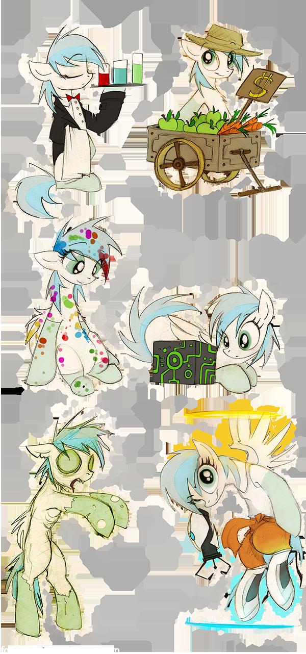 Website ponies strike back by FoxInShadow