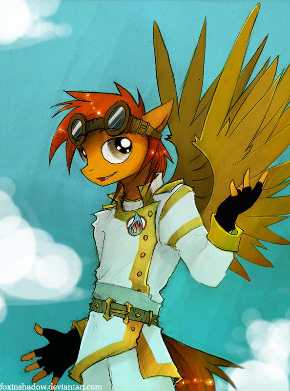 Soul Chaser goes all bla bla bla by FoxInShadow