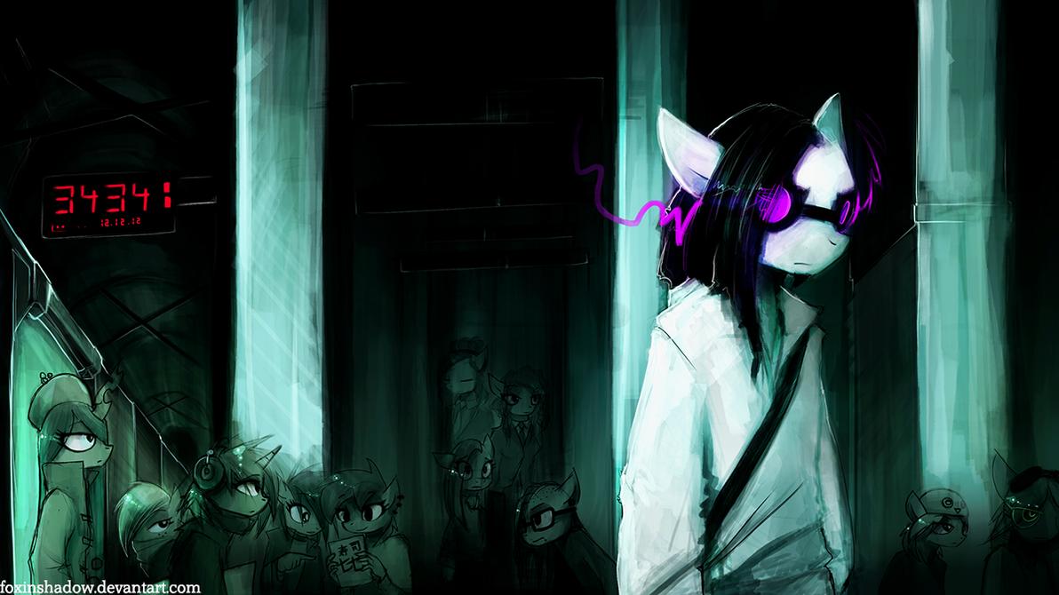 Sewer Metro Underground by FoxInShadow