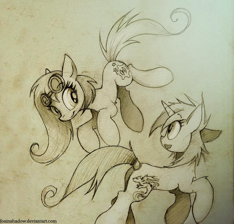 Best friends by FoxInShadow