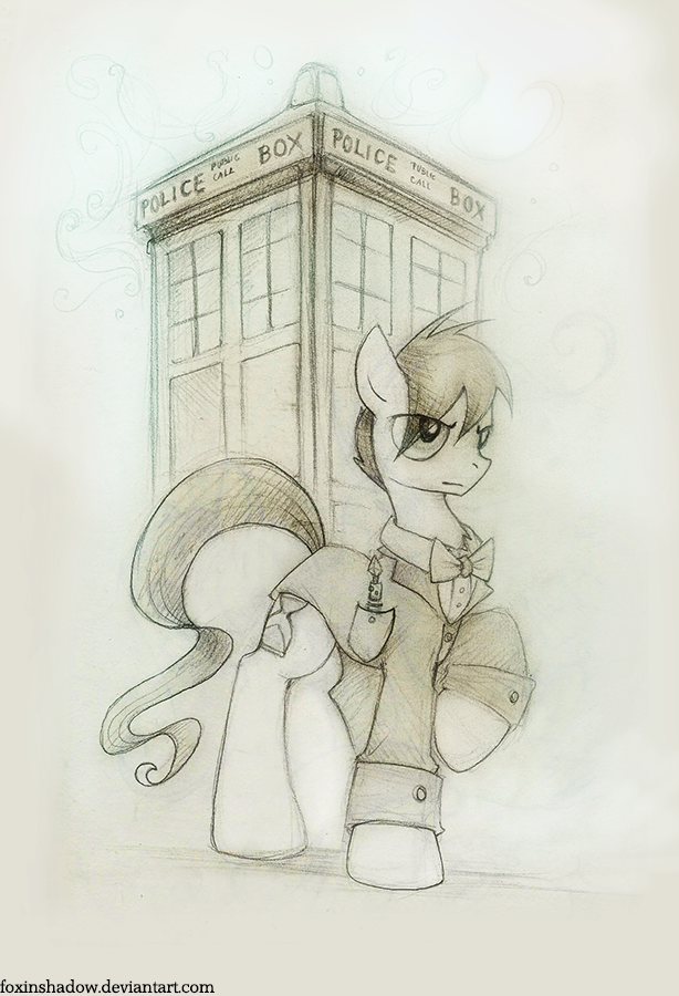 call me The Doctor by FoxInShadow