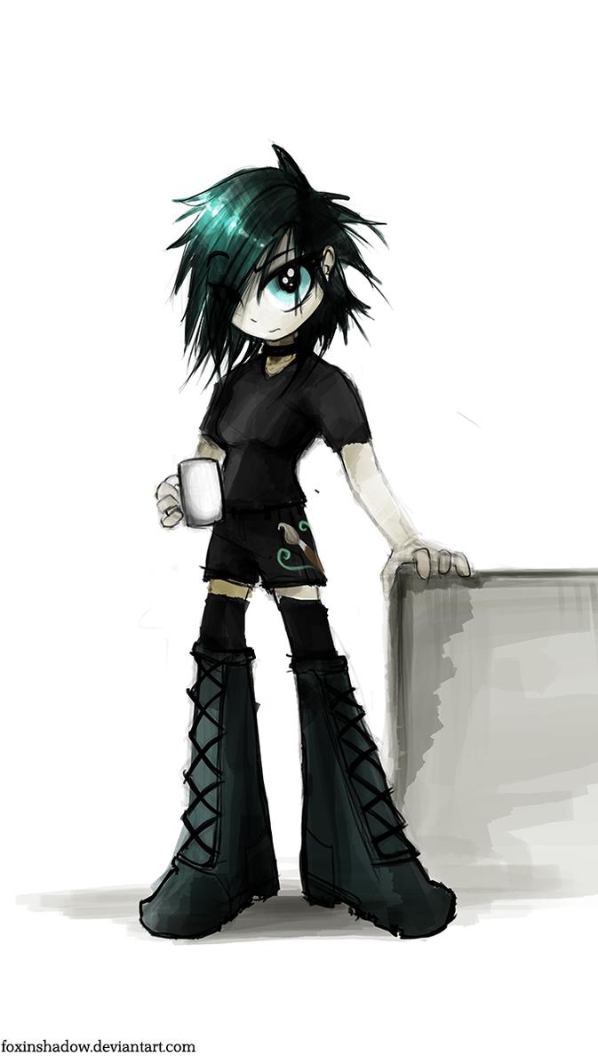 Coffee, the Equestria Girl by FoxInShadow