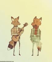 Fleet Foxes by FoxInShadow