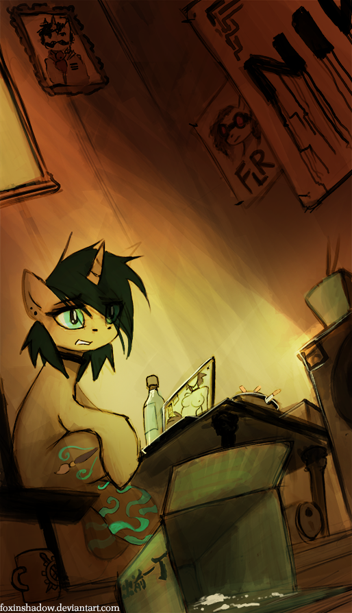 Chinatown by FoxInShadow
