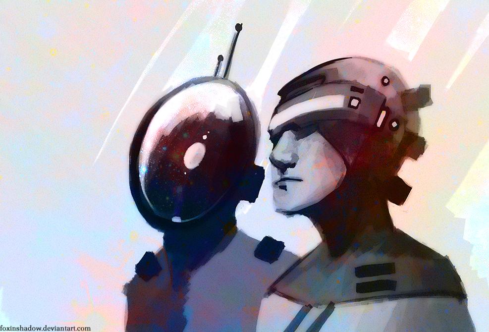 Daft Punk by FoxInShadow