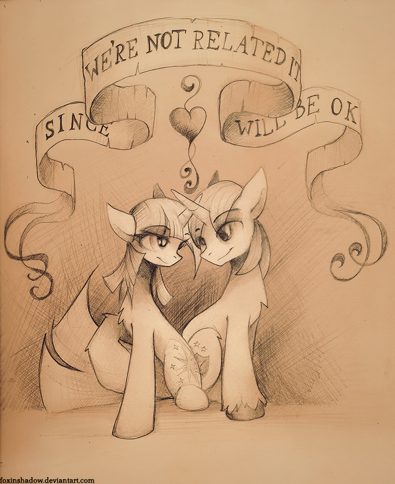 I always wanted my own brother by FoxInShadow