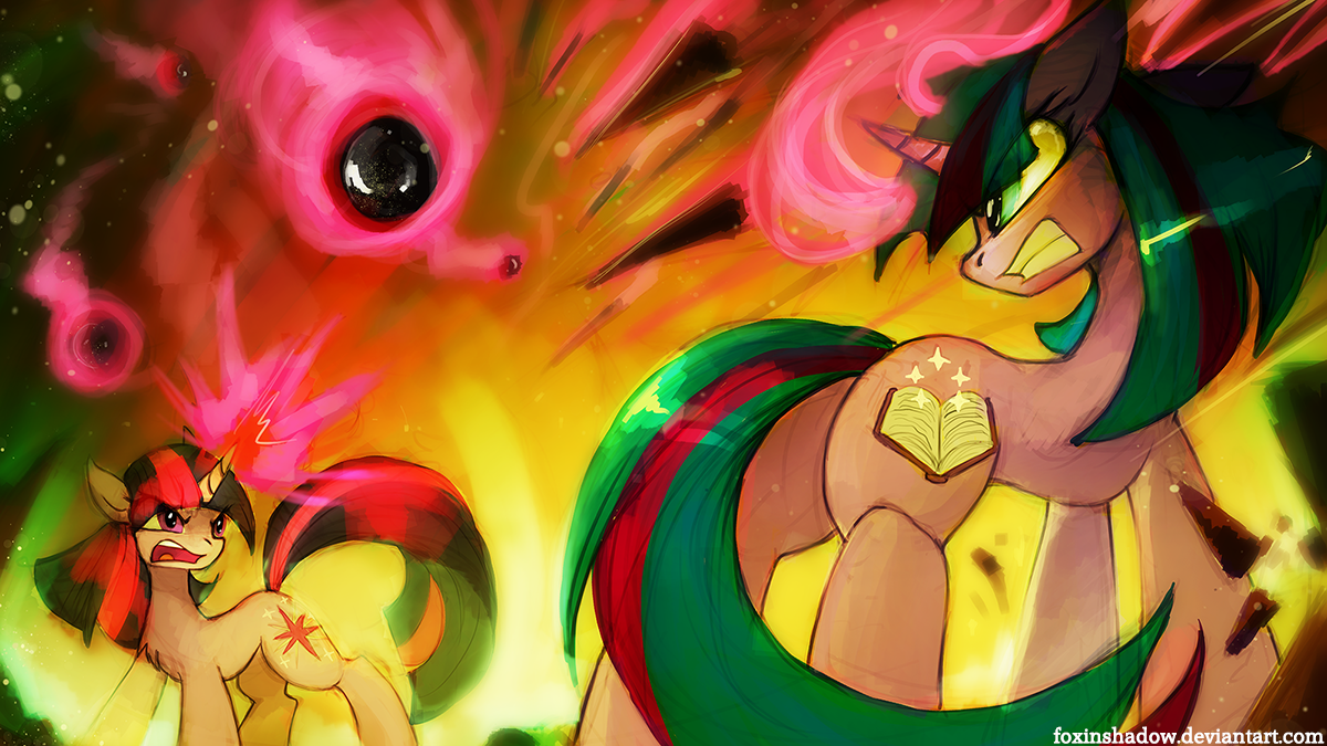 Magic Duel by FoxInShadow
