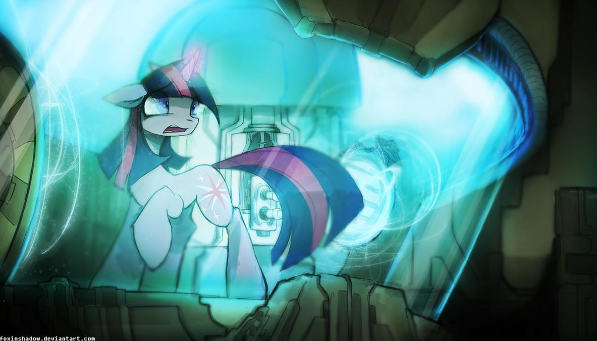 Interrogate: Twilight Sparkle by FoxInShadow