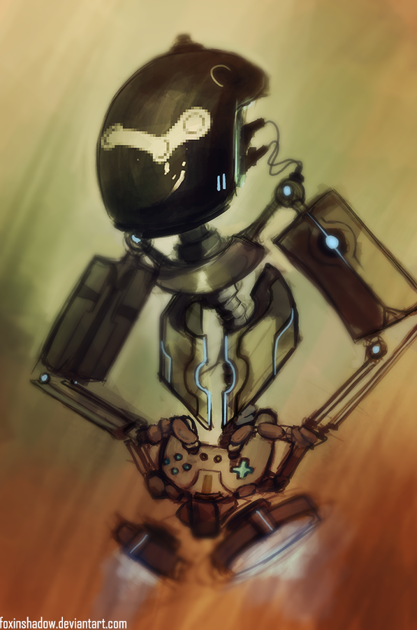 Pro Gaming Bot 9000 by FoxInShadow