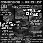 Price list by FoxInShadow