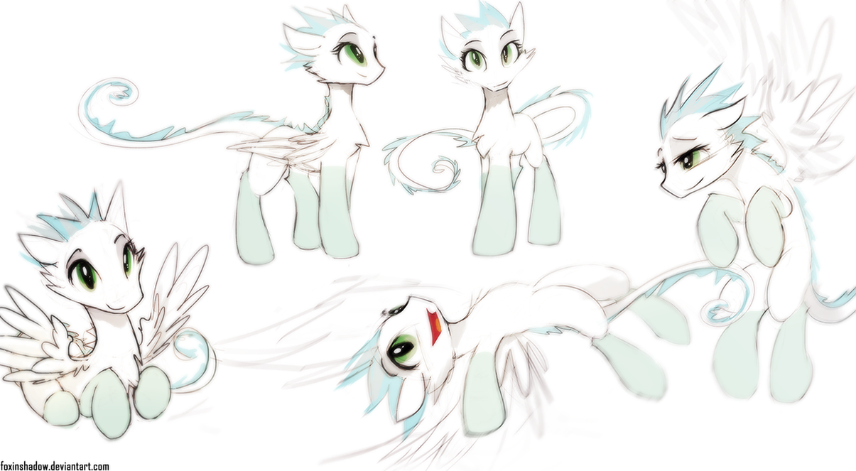 A... former pony by FoxInShadow