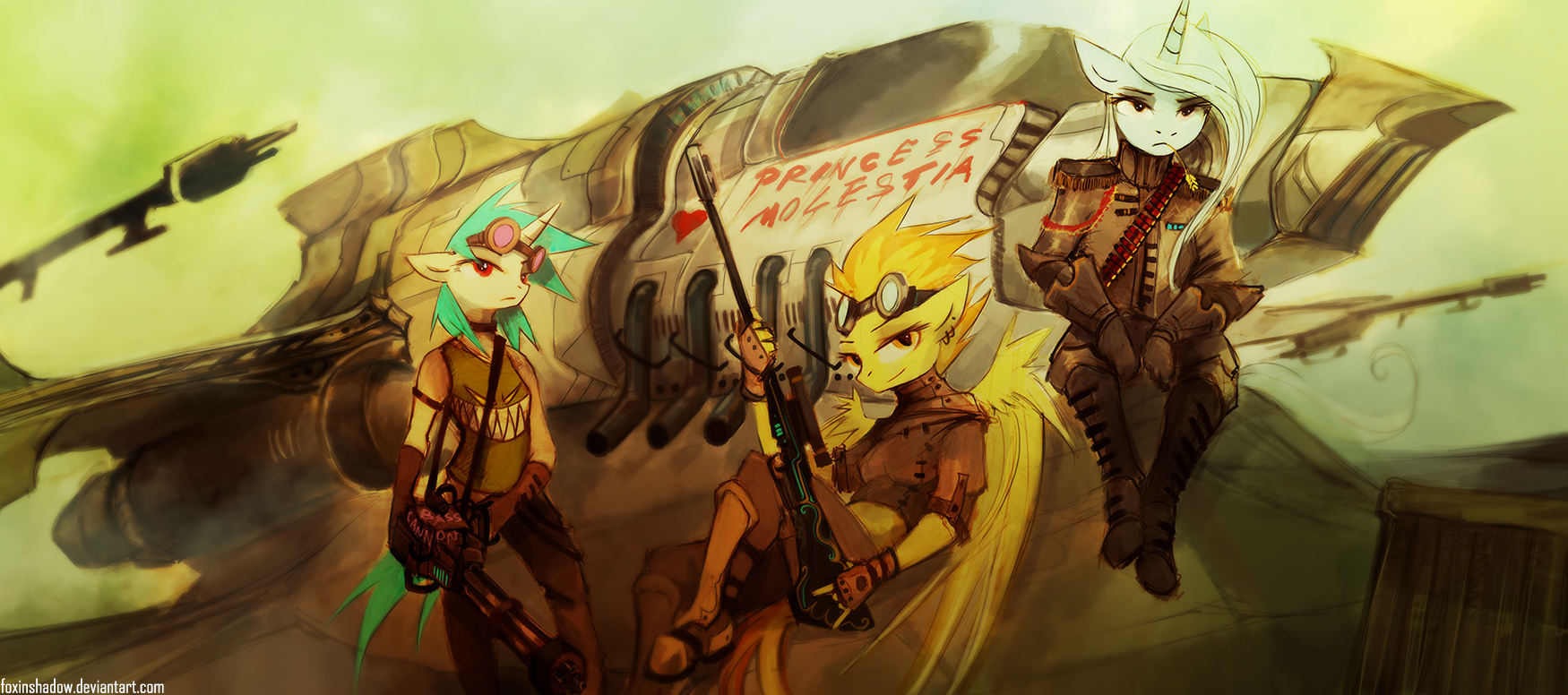 Team Awesome by FoxInShadow
