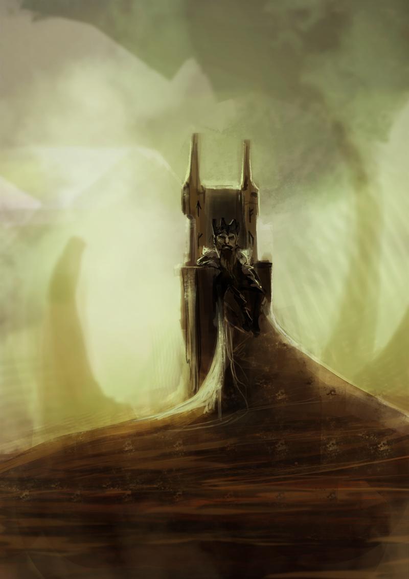 Dwarf King by FoxInShadow