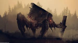 Crab Robot by FoxInShadow