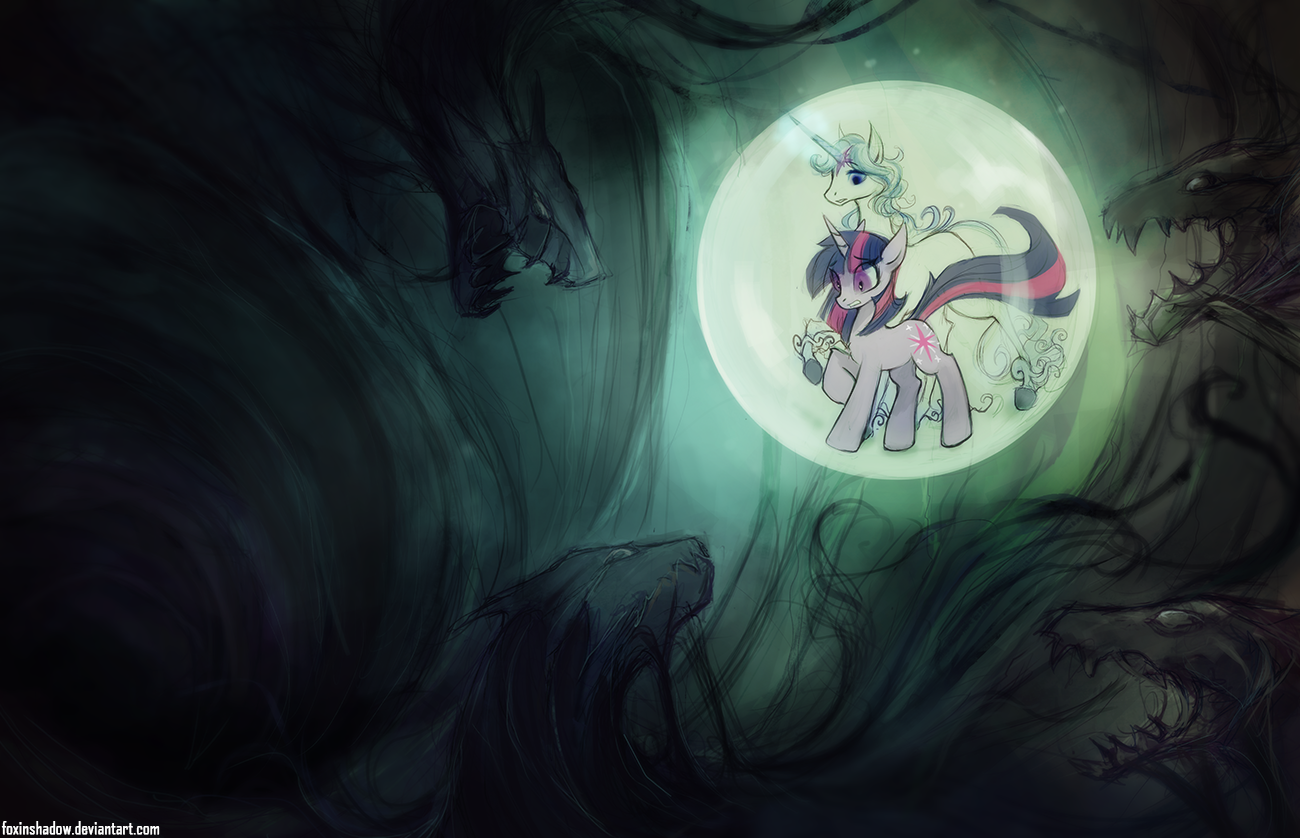 Face Your Fears by FoxInShadow