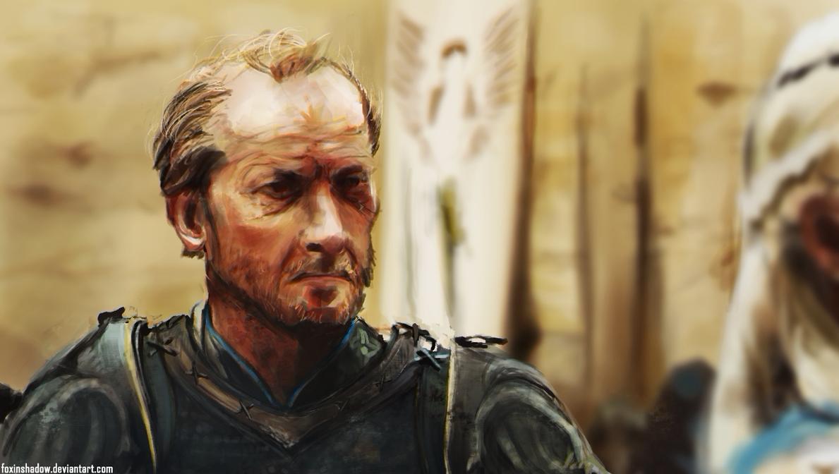 Ser Jorah by FoxInShadow