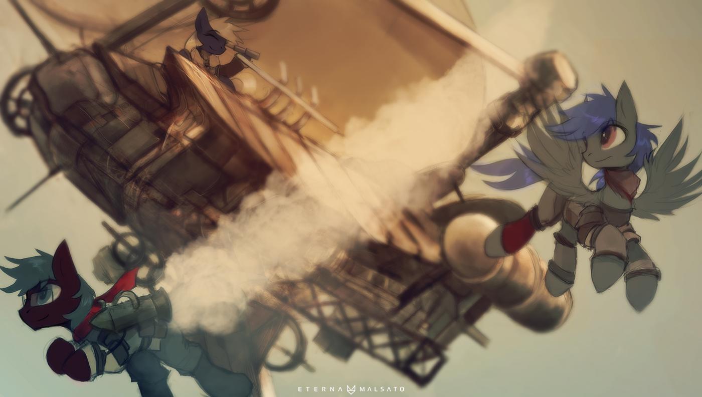 Guns of Icarus by FoxInShadow