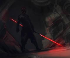 Darth Maul by FoxInShadow