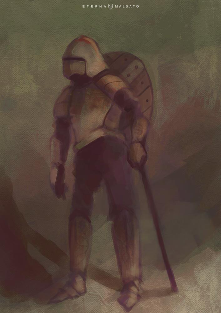 Don Quixote by FoxInShadow