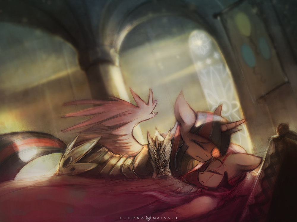 The End by FoxInShadow