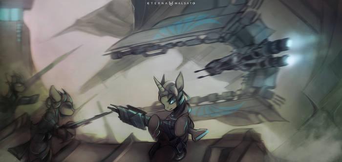 My Little StarCitizen: New Lunar Republic Squadron