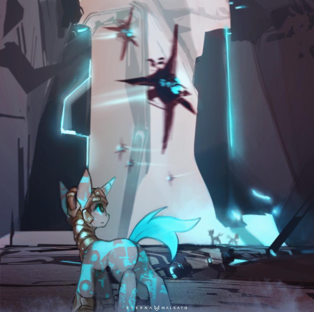My Little StarCitizen: Xi'An Crystal Pony Empire