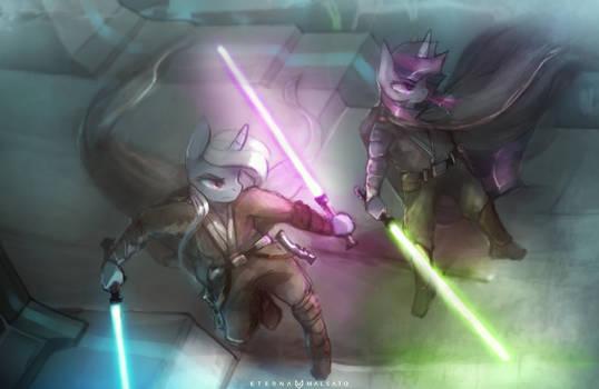 Jedi Masters Trixie and Twilight