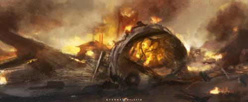 Crash Site by FoxInShadow