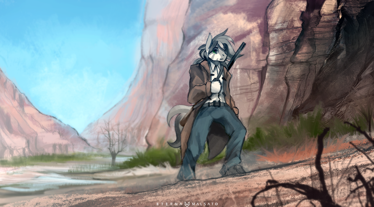Canyon by FoxInShadow