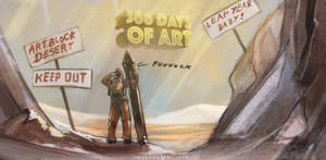366 Days of Art personal challenge (1/366)