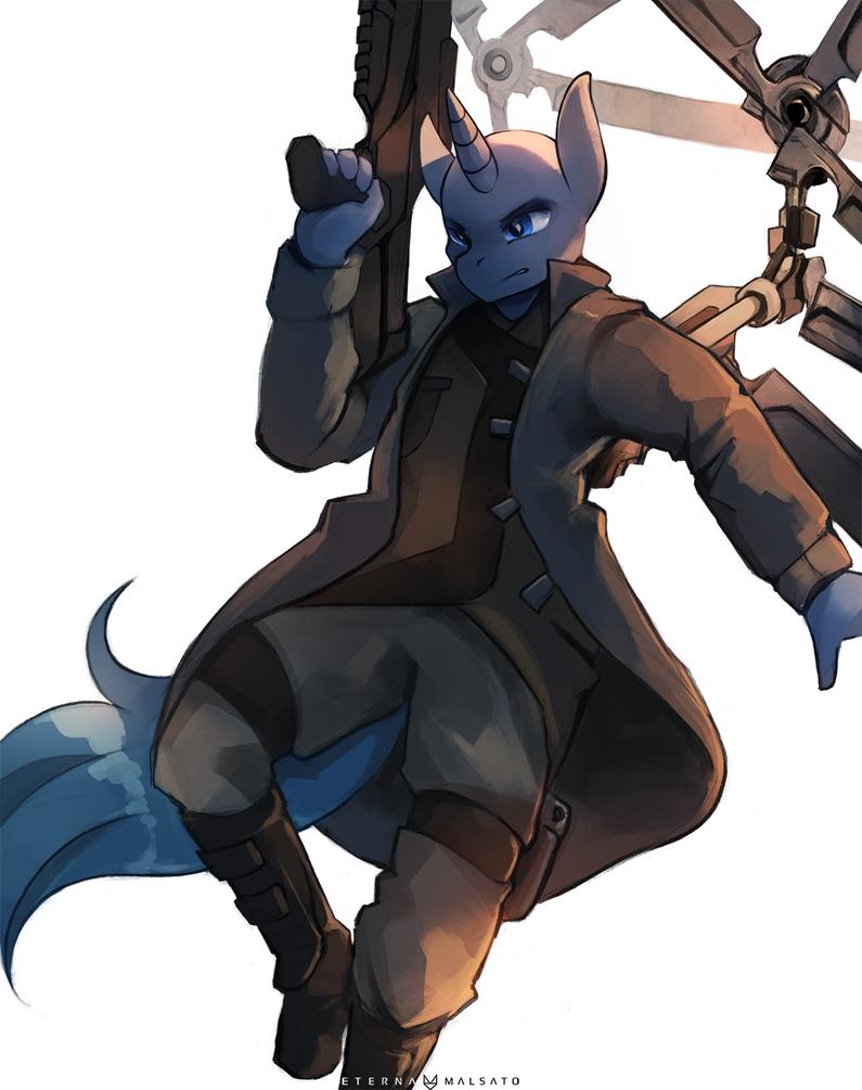 Secret Agent by FoxInShadow