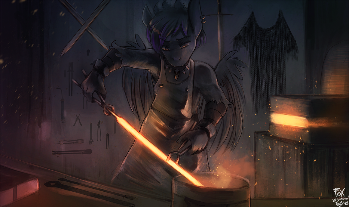 Master At Work by FoxInShadow