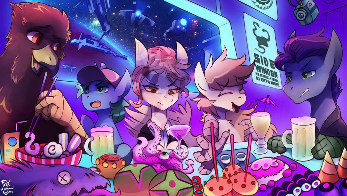 Space Jammers Inc. by FoxInShadow