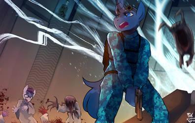 Half Life by FoxInShadow