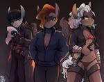 Ambrosia, Ebony and Bandit Queen