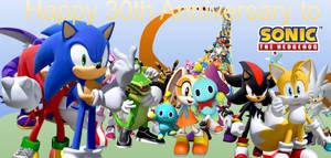 Happy 30th Anniversary to Sonic